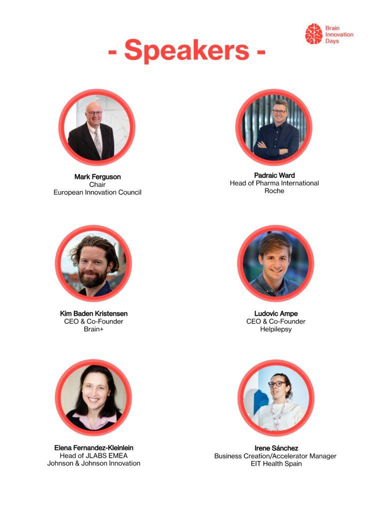 Brain Innovation Days Speakers