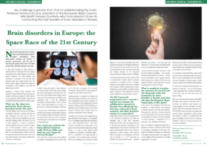 Brain disorders in Europe the Space Race of the 21st Century