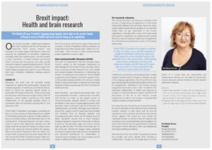 Brexit impact-health and brain research